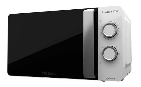 microondas-Cecotec-Proclean-3010