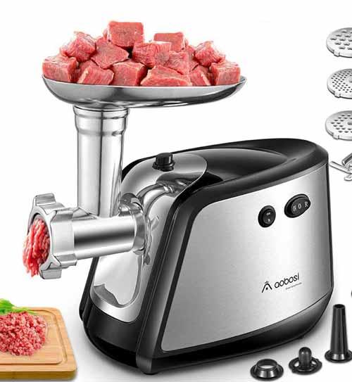 Picadora de carne Aobosi