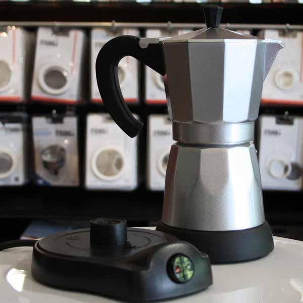 Cafetera moka eléctrica