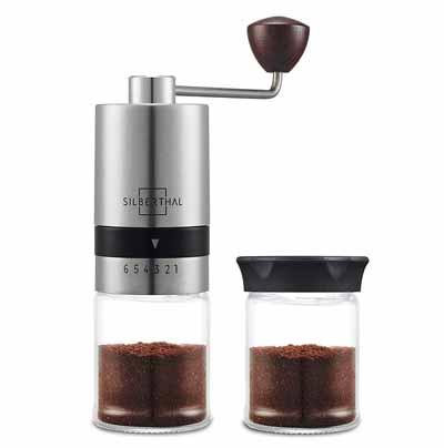 SILBERTHAL Molinillo de café manual