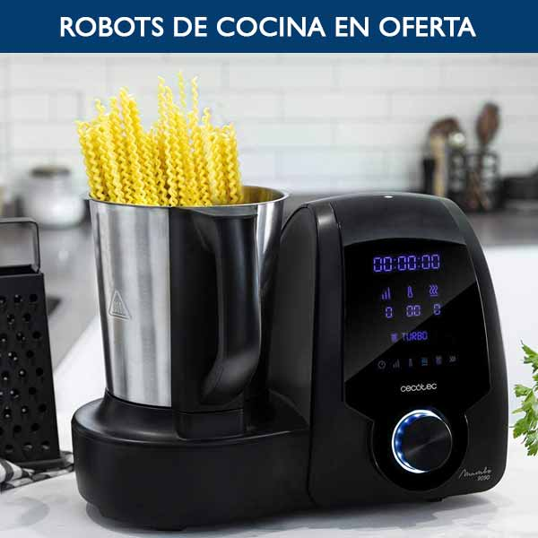 ofertas robots de cocina