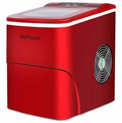 máquina para hacer cubitos de hielo mvpower